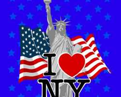Grosir Selimut INTERNAL - Selimut Internal I Love New York