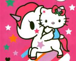 Grosir Selimut INTERNAL - Grosir Selimut Internal Motif Tokidoki Unicorn