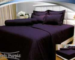 Grosir Sprei VALLERY - Sprei Dan Bed Cover Vallery Dark Purple