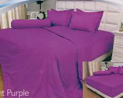 Grosir Sprei VALLERY - Sprei Dan Bed Cover Vallery Light Purple