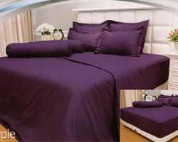 Grosir Sprei VALLERY - Sprei Dan Bed Cover Vallery Purple