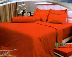 Grosir Sprei VALLERY - Sprei Dan Bed Cover Vallery Red