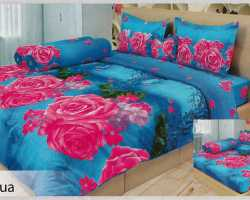 Grosir Sprei LADY ROSE - Grosir Sprei Lady Rose Aqua