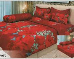 Grosir Sprei LADY ROSE - Grosir Sprei Lady Rose Velvet