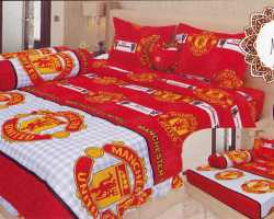 Grosir Sprei LADY ROSE - Sprei Dan Bed Cover Lady Rose Motif Manchester United