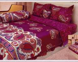 Grosir Sprei LADY ROSE - Sprei Dan Bed Cover Lady Rose Motif Marbela