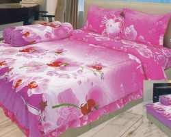 Grosir Sprei LADY ROSE - Sprei Dan Bed Cover Lady Rose Motif Orchid