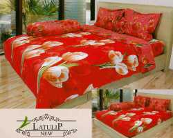 Grosir Sprei INTERNAL - Sprei Dan Bed Cover Internal Motif Latulip