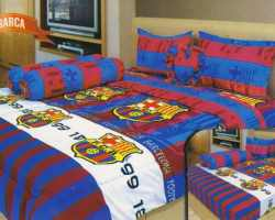 Grosir Sprei INTERNAL - Sprei Dan Bed Cover Internal Motif Barca