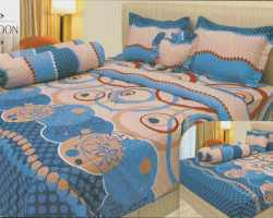 Grosir Sprei INTERNAL - Sprei Dan Bed Cover Internal Motif Blue Lagoon