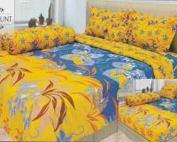 Grosir Sprei INTERNAL - Sprei Dan Bed Cover Internal Motif Blue Mount
