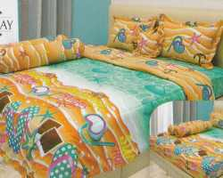 Grosir Sprei INTERNAL - Sprei Dan Bed Cover Internal Motif Holiday