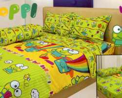 Grosir Sprei INTERNAL - Sprei Dan Bed Cover Internal Motif Keroppi