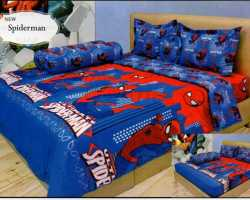 Grosir Sprei INTERNAL - Sprei Dan Bed Cover Internal Motif Spiderman