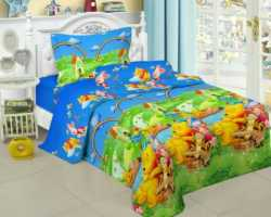 Grosir Sprei FAIRMONT - Grosir Sprei Fairmont Winnie The Pooh Single
