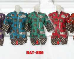 Grosir Fashion BATIK - Bat 886