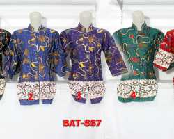 Grosir Fashion BATIK - Bat 887