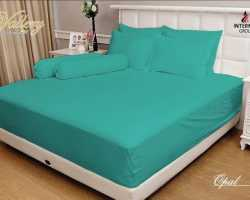 Grosir Sprei VALLERY - Sprei Dan Bed Cover Vallery Opal
