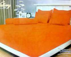 Grosir Sprei VALLERY - Sprei Dan Bed Cover Vallery Orange