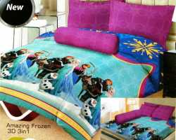 Grosir Sprei LADY ROSE - Grosir Sprei Lady Rose Amazing Frozen