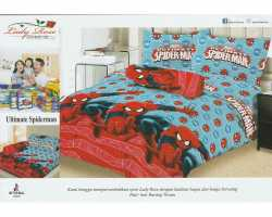 Grosir Sprei LADY ROSE - Grosir Sprei Lady Rose Ultimate Spiderman