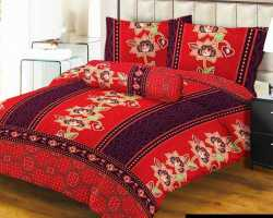 Grosir Sprei LADY ROSE - Grosir Sprei Lady Rose Batik Merah