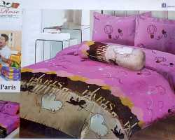 Grosir Sprei LADY ROSE - Grosir Sprei Lady Rose Love In Paris