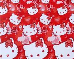 Grosir SELIMUT LADY ROSE - Selimut Lady Rose Hello Kitty Toki Doki