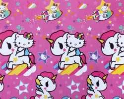Grosir SELIMUT LADY ROSE - Selimut Lady Rose Hello Kitty Unicorn