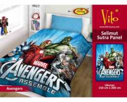Grosir Selimut Vito Sutra Panel - Grosir Selimut Vito Sutra Motif Avengers