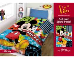 Grosir Selimut Vito Sutra Panel - Grosir Selimut Vito Sutra Motif Mickey