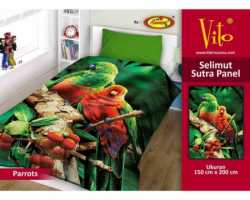 Grosir Selimut Vito Sutra Panel - Grosir Selimut Vito Sutra Motif Parrot