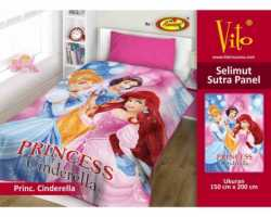 Grosir Selimut Vito Sutra Panel - Grosir Selimut Vito Sutra Motif Princess Cinderella