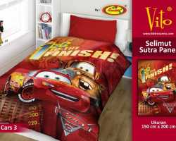 Grosir Selimut Vito Sutra Panel - Grosir Selimut Vito Sutra Motif Cars