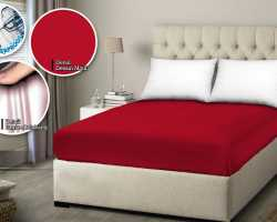 Grosir SPREI WATER PROOF MONALISA - Merah