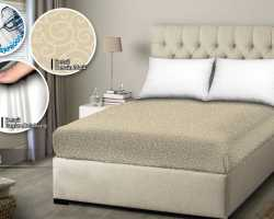 Grosir SPREI WATER PROOF MONALISA - Mocca