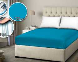 Grosir SPREI WATER PROOF MONALISA - Toska