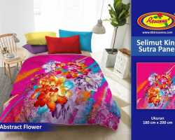 Grosir Selimut ROSANNA KING SUTRA - Grosir Selimut Rosanna King Sutra Abstract Flower