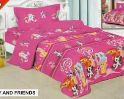 Grosir Sprei FAIRMONT - Grosir Sprei Fairmont Pony And Friends