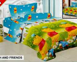 Grosir Sprei FAIRMONT - Grosir Sprei Fairmont Pooh And Friends