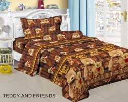 Grosir Sprei FAIRMONT - Grosir Sprei Fairmont Motif Teddy And Friends