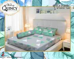Grosir Sprei VALLERY - Sprei Dan Bed Cover Vallery Aura