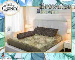 Grosir Sprei VALLERY - Sprei Dan Bed Cover Vallery Brownies