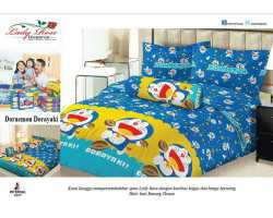 Grosir Sprei LADY ROSE - Grosir Sprei Lady Rose Doraemon Dorayaki