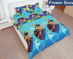 Grosir Sprei LADY ROSE - Grosir Sprei Lady Rose Frozen Snow