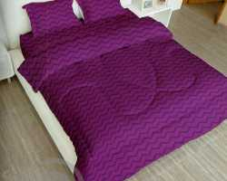 Grosir Sprei LADY ROSE - Grosir Sprei Lady Rose Purple Wine