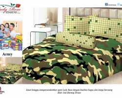 Grosir Sprei LADY ROSE - Grosir Sprei Lady Rose Army