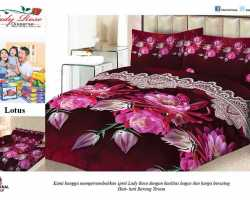 Grosir Sprei LADY ROSE - Grosir Sprei Lady Rose Lotus