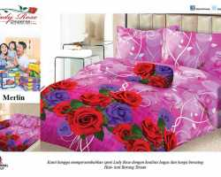 Grosir Sprei LADY ROSE - Grosir Sprei Lady Rose Merlin