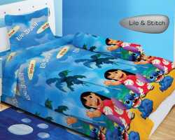Grosir Sprei LADY ROSE SINGLE - Sprei Dan Bed Cover Lady Rose Single Lilo And Stitch